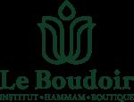 logo principal du boudoir couleur vert buisson