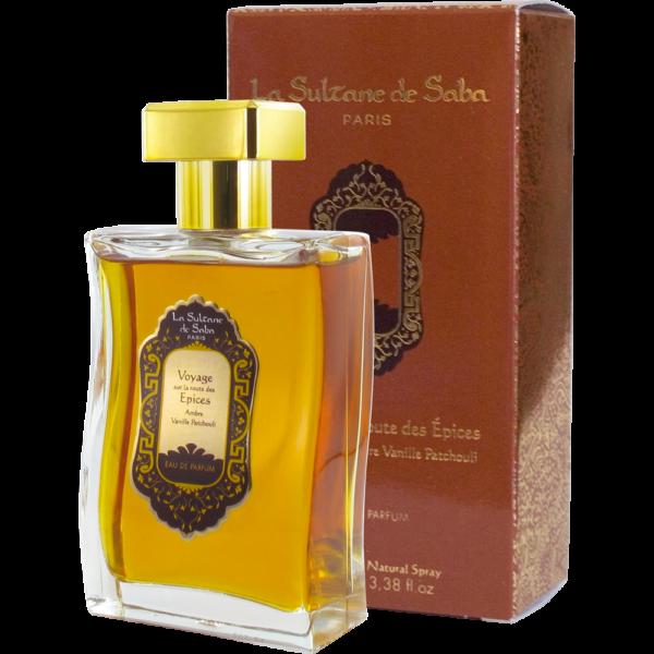 Eau de parfum voyage ayurvédique de la Sultane de Saba
